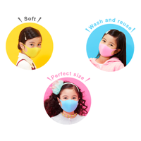 Arax Pitta Face Kids Mask Authentic from Japan (Set of 3)