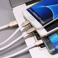 WK Platinum 3in1 Cable WDC-010 for Android & 2 iOs Charging