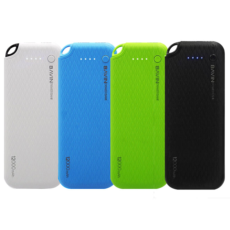 Bavin 12000mAh Power Bank Quick Charging PC171