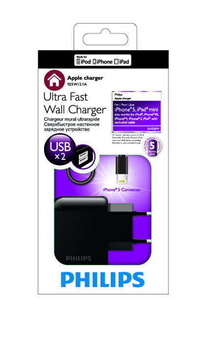 Philips Lightning Charger for iPhone & iPad