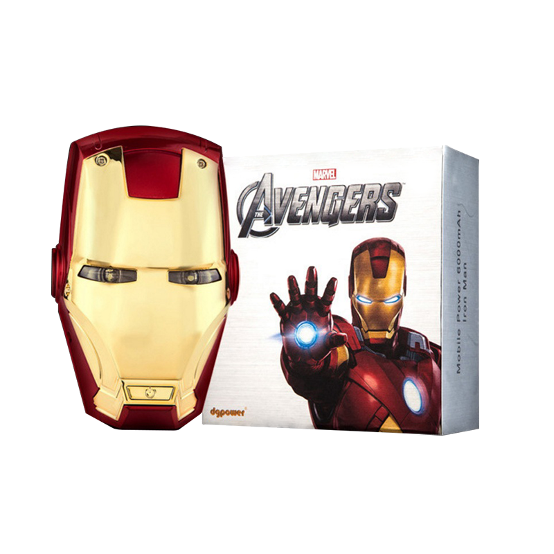 Iron Man 6000mAh Power Bank