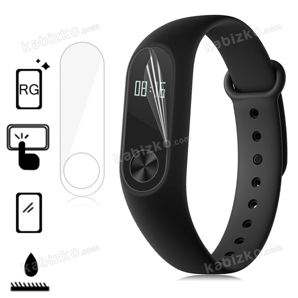 MIJOBS 2pcs Screen Protector for Mi Band 2