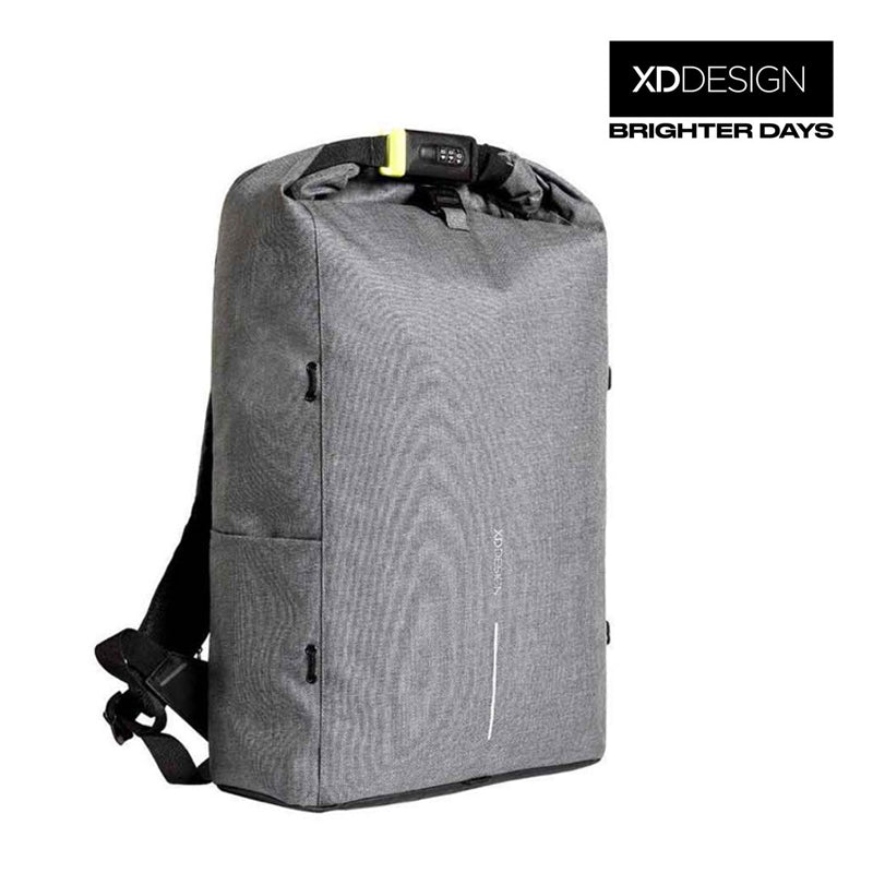 Bobby Urban Lite Anti-theft Backpack by XD Design (Gray)