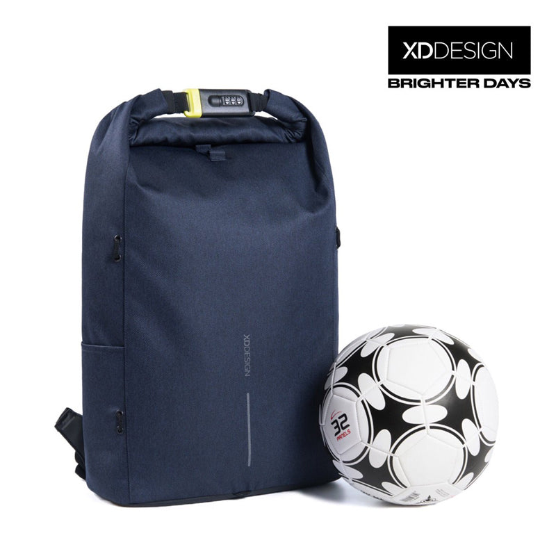 Bobby Urban Lite Anti-theft Backpack by XD Design (Navy Blue)