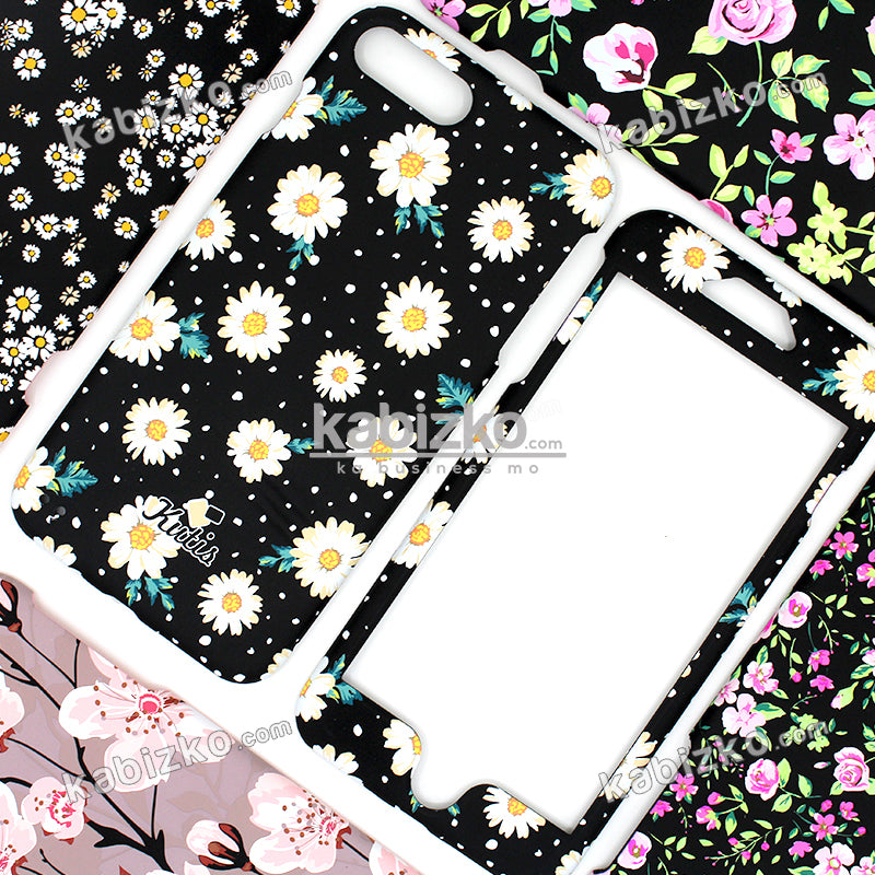 Kutis Flower 360 Hard Case For iPhone 6/6S