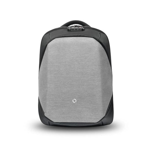 ClickPack Anti-Theft Backpack by Korin Design - Version 2 with Organizer (Light Grey)