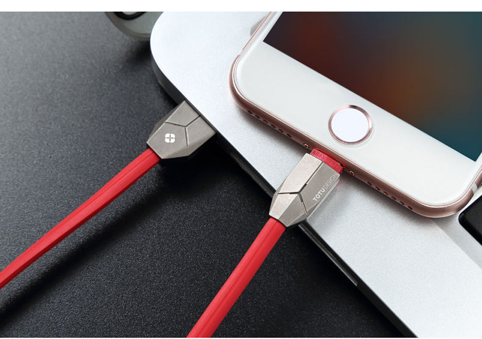 TOTU LED Lighting USB Cable For iPhone 7 7 Plus