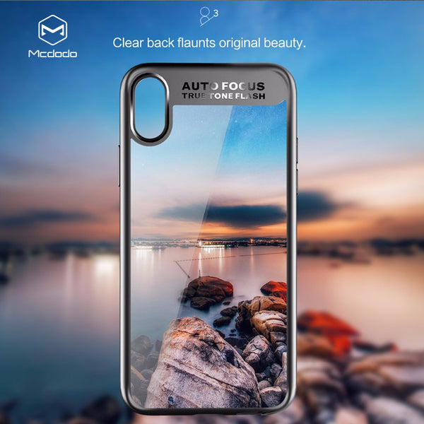Mcdodo Bumper Case For iPhone X