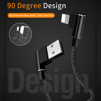 Mcdodo Lighting USB Cable 90 Degree Reversible 2.1A for iOs