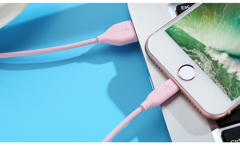 TOTU For iPhone USB Cable For iPhone 6 6S 7 Plus 5 5S SE (120CM)