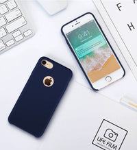 Torras  Liquid Silicone Rubber Case for iPhone 6/6S with free Tempered Glass