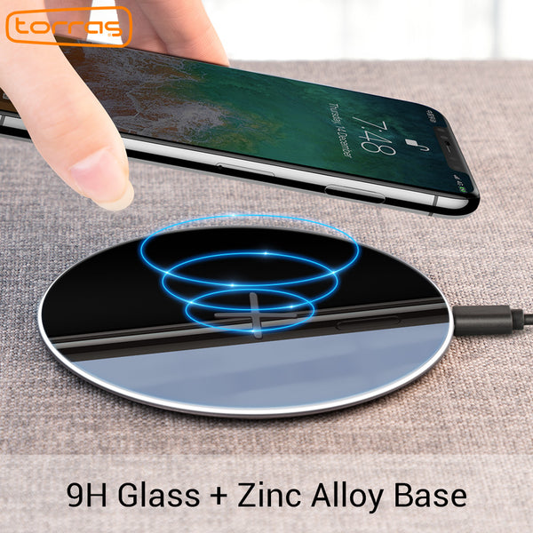 Torras  Qi Wireless Charger for iPhone x , 8 Samsung S8/S7 Edge ( Ship from abroad )