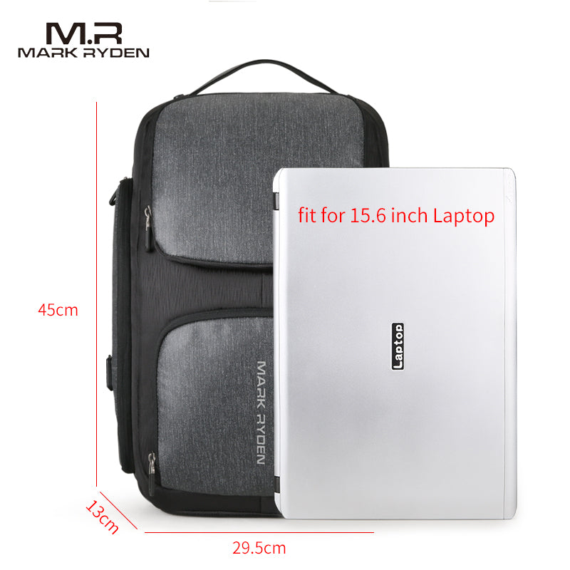 Mark Ryden High Capacity Backpack Fits 15.6 inch Laptop