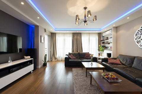 How you can get mood lighting by smart home system