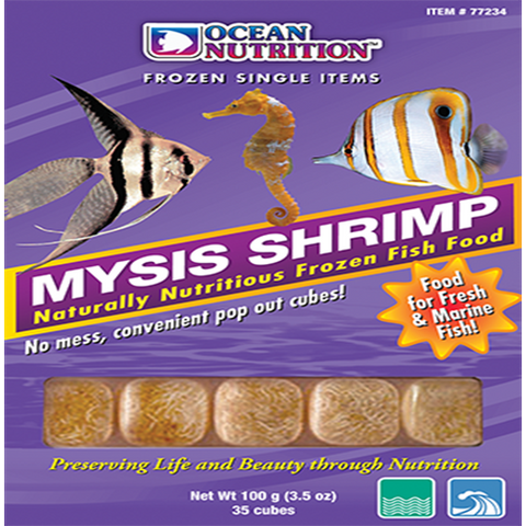 Ocean Nutrition Mysis 100g - Marine World Aquatics