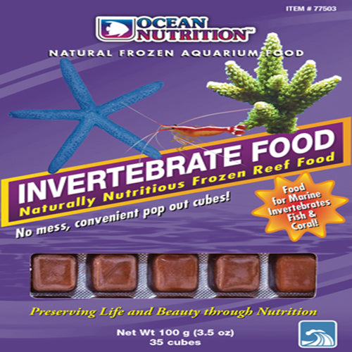 Ocean Nutrition Invertebrate Food 100g - Marine World Aquatics
