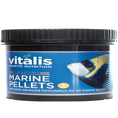 Vitalis Platinum Marine Pellets 60g Small 1.5mm - Marine World Aquatics