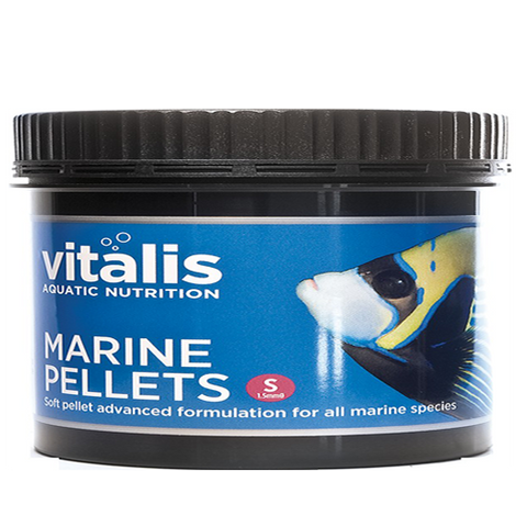 Vitalis Marine Pellets 60g Small 1.5mm - Marine World Aquatics