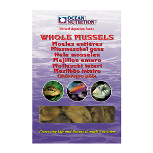 Ocean Nutrition Whole Mussels 100g - Marine World Aquatics