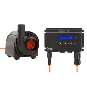 Abyzz Flow Pumps-A100 PUMP/CONTROLLER WITH 3M CABLE - Marine World Aquatics