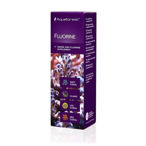 Aquaforest Fluorine 50ml - Marine World Aquatics