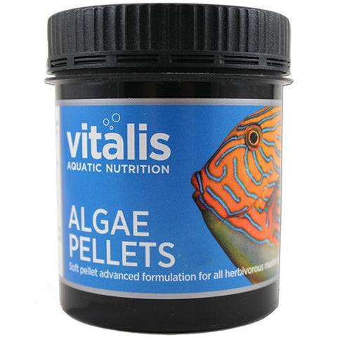 Vitalis Algae Pellets 120g Small 1.5mm - Marine World Aquatics