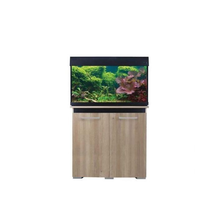 Aqua One AquaVogue 135 Cabinet Oak & Black - Marine World Aquatics