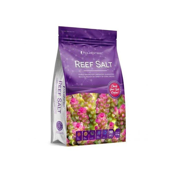 Aquaforest Reef Salt 7.5kg Bag - Marine World Aquatics