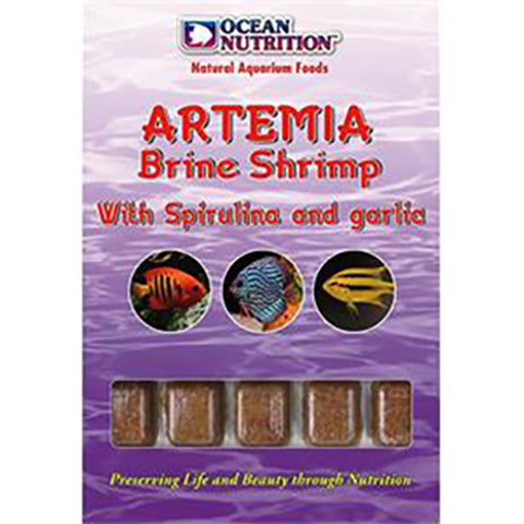 Ocean Nutrition ARTEMIA SP GARLIC 100G - Marine World Aquatics