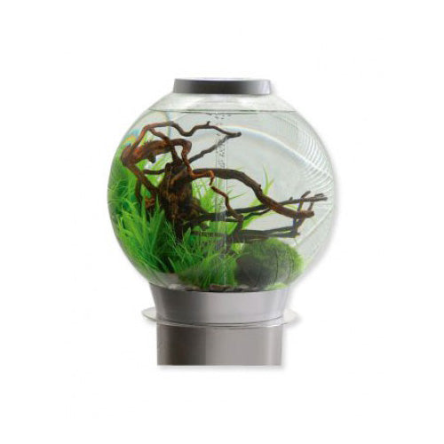 BiOrb 105 Aquarium Silver and Intelligent LED, Aquariums & Cabinets by marineworld.co.uk