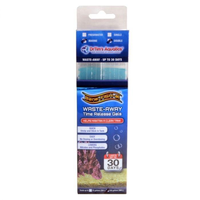 Dr Tims Waste Away Gel Large Twin (up to 150g) - Marine World Aquatics