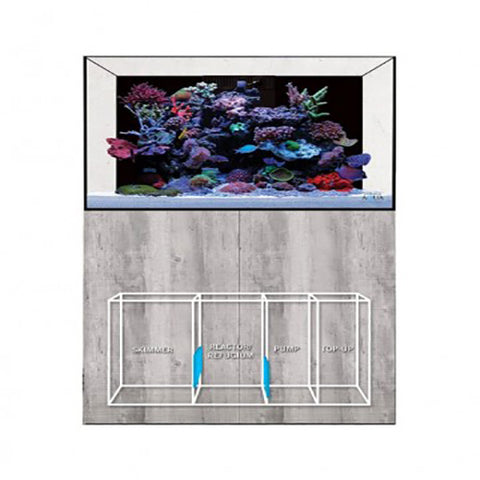 EA Reef Pro 1200 Cabinet and Sump, Aquariums & Cabinets by marineworld.co.uk