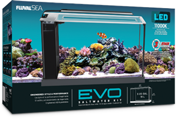 Fluval Sea EVO  52 Ltr - Marine World Aquatics