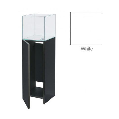 Evolution Aqua EA300 HDCube with Ultra Gloss White Cabinet, Aquariums & Cabinets by marineworld.co.uk