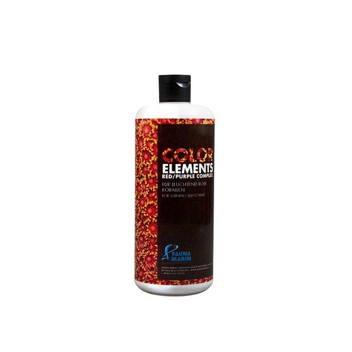 Fauna Marin Colour Elements Red Purple Complex 500ml - Marine World Aquatics