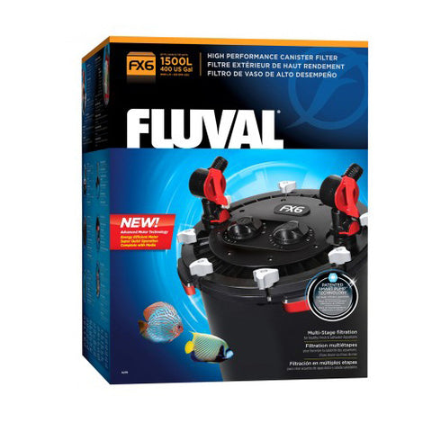 Fluval FX6 External Filter, Filtration by marineworld.co.uk