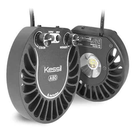 Kessil A80 LED - TUNA BLUE (MARINE) + FREE GOOSENECK BRACKET, Lighting by marineworld.co.uk