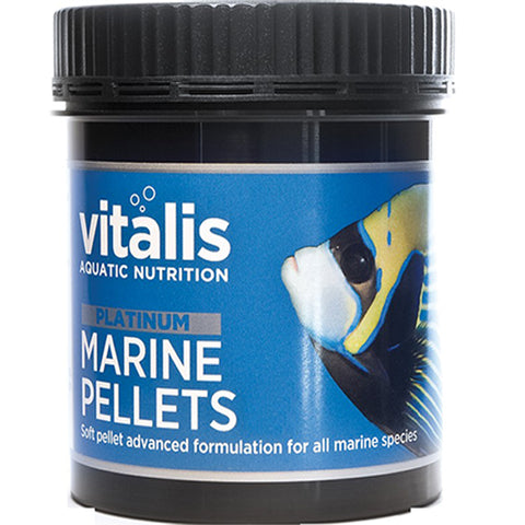Vitalis Platinum Marine Pellets 60g XS 1mm - Marine World Aquatics