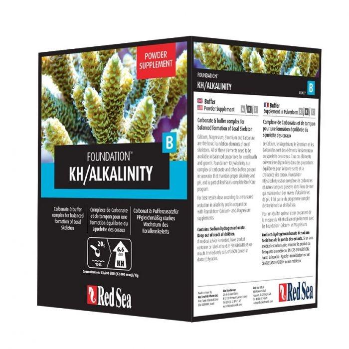 Red Sea Foundation B KH / Alkalinity 1kg Powder - Marine World Aquatics