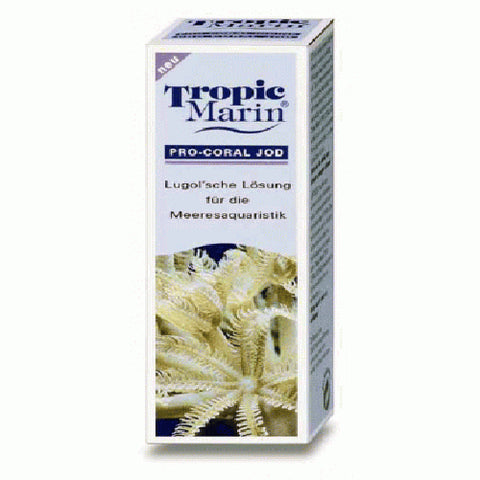 Tropic Marin Pro Coral Iodine 50ml, Salts, Minerals & Elements by marineworld.co.uk