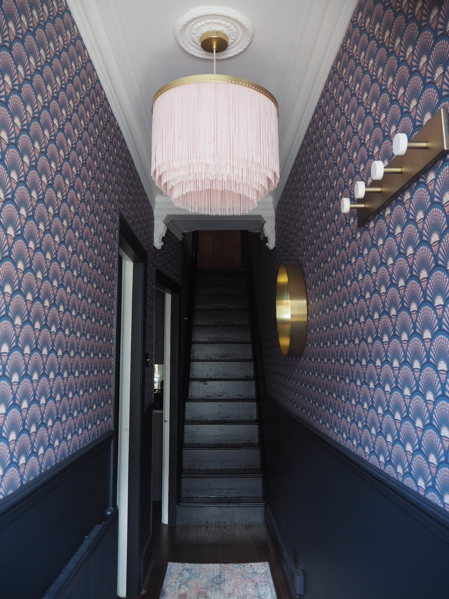 Farrow And Ball Railings Paint renovation update: hallway tour (in collaboration with