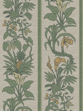 Load image into Gallery viewer, Botanize Heritage | Grasscloth 'Palm Green' Sample