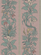 Load image into Gallery viewer, Botanize Heritage | Grasscloth 'Plaster Pink' Sample