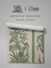 Load image into Gallery viewer, Botanize Heritage 'Palm Green' Sample