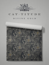 Load image into Gallery viewer, Cat-titude 'Divine Gold' Sample