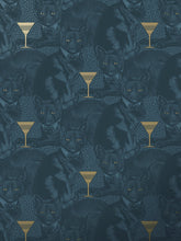 Load image into Gallery viewer, Cat-titude 'Fierce Blue' Sample