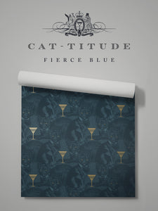 Cat-titude 'Fierce Blue'
