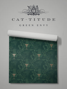 Cat-titude 'Green Envy'
