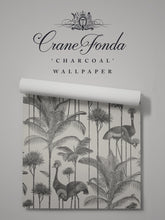 Load image into Gallery viewer, Crane Fonda 'Charcoal' Sample