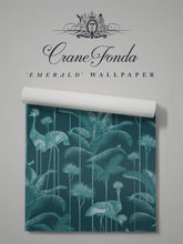 Load image into Gallery viewer, Crane Fonda 'Emerald' Sample